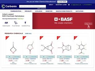 Carbanio.com - India B2B Chemicals Marketplace