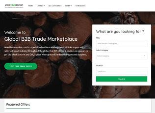 Woodtrademarket.com - Wood B2B Trade Marketplace