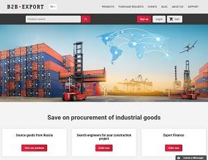 B2B-export.com - Export from Russia