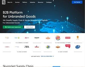 Bizongo.com - B2B Platform for Unbranded Goods