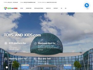 Toysandkids.com - B2B platform for Toys Digital games