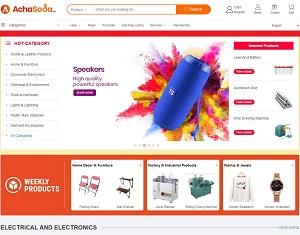 Achasoda.com - Global Manufacturers & Suppliers B2B Marketplace