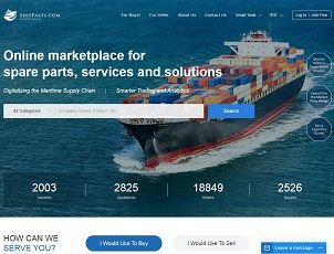 Shipparts.com - Marine Equipment & Spare Parts B2B Trading Platform