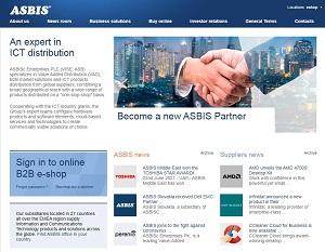 Asbis.com - Information and Communication Technologies Distributor