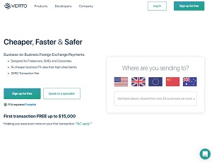 Vertofx.com - B2B Currency Exchange Marketplace