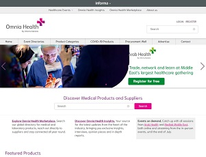 Omnia-health.com - Health Marketplace   Discover medical devices and suppliers