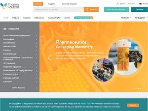 Pharmasources.com - API, Preparation and Pharmaceutical Machinery B2B Trade Platform