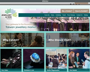 Taiwanjewelleryfair.com - Taiwan's Premier International B2B Jewellery Trade Fair
