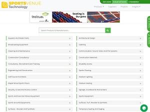 Sportsvenue-technology.com - Leading B2B Portal in Sports