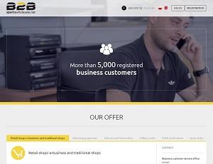 B2Bsportswholesale.net - Professional Sports B2B Platfrom