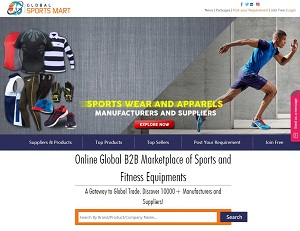 Globalsportsmart.com - Sporting Goods and Fitness Equipments Suppliers Directory