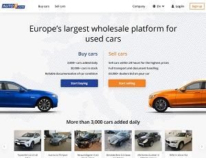 Auto1.com - Europe Wholesale Platform for used cars
