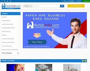 Worldsindia.com - India b2b portal and b2b marketplace