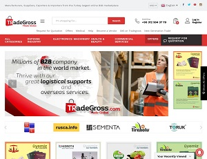 Tradegross.com - Turkey largest online B2B marketplace