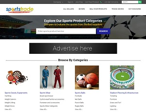 Sportstrade.in - Online Trade Portal for sports goods, equipments & Accessories