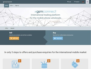 Gsmconnect24.com - International trading platform for the mobile phone wholesale