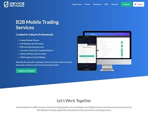 Devicenetwork.com - Consumer electronics trading platform
