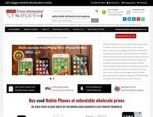 Mobilephonewholesalers.co.uk - Europe Mobile Phone Wholesale Market