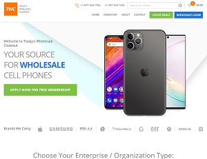 Todayscloseout.com - Wholesale Cell Phone Suppliers & Buyers Directory