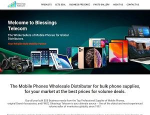 Blessingstelecom.com - Wholesale Mobile Phone Distribution of Top Brands