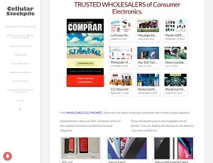 Cellularstockpile.com - Wholesale Cell Phone Distributors, Suppliers