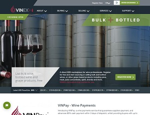 Vinex market - Wine B2B Marketplace