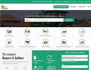 Trade.kisaanhelpline.com - India Agriculture B2B Trade Portal
