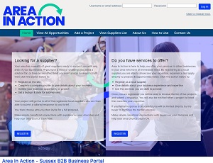 Areainaction.co.uk - Sussex B2B Business Portal