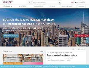 B2usa.com - Leading B2B Marketplace for international trade in the Americas.