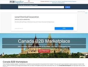 Canada.fobsupplier.com - Canada B2B Marketplace