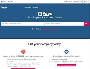 Yoys.ca - Canada B2B Marketplace