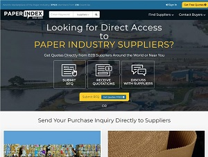 Paperindex.com - Paper Industry Suppliers B2B Marketplace