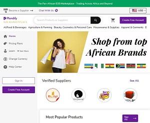 Plendify.com - Pan-African B2B Marketplace