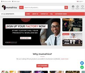 Mumafrica.com - African B2B Marketplace