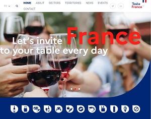 Tastefranceforbusiness.com - Taste France's B2B platform