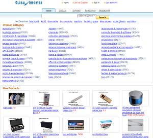 Globalimporter.net - Global Importers Directory and Purchasing network