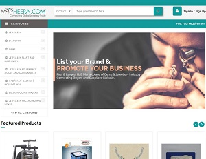 Myheera.com - Online B2B Portal for Gems and Jewellery Industry