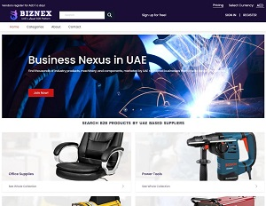 Biznex.ae - UAE's Local B2B Platform & B2B Products Marketplace