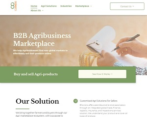 8corners.com.au - B2B Marketplace for Agribusiness