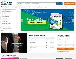 Okchem.com - Global B2B Platform for Chemical Raw Materials