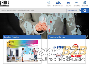 Africaexports.co.za - Online b2b directory of South African Companies