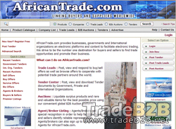 Africantrade.com - African B2B Marketplace and African Trade Portal