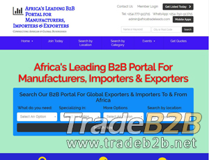 Export Portal Website