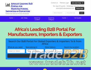 Africatradeleads.com - Africa's Import-Export Directory