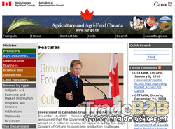 Agr.gc.ca - Agriculture food et Agroalimentaire Canada
