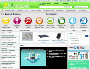 Allitwares.com - B2B Sourcing Portal for Electronics and IT Industry