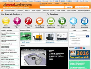 Allmetalworking.com - B2B Trade Portal for Machine Tools