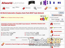 allworldautomotive.com - All World Automotive Surplus Auto Parts B2B Trade Network