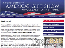 Americasgiftshow.com - The directory of Wholesale Trade Gifts manufacturers and wholesalers in USA