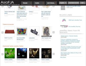 Asiafja.com - Asia B2B Trade Platform for Fashion Jewellery Suppliers